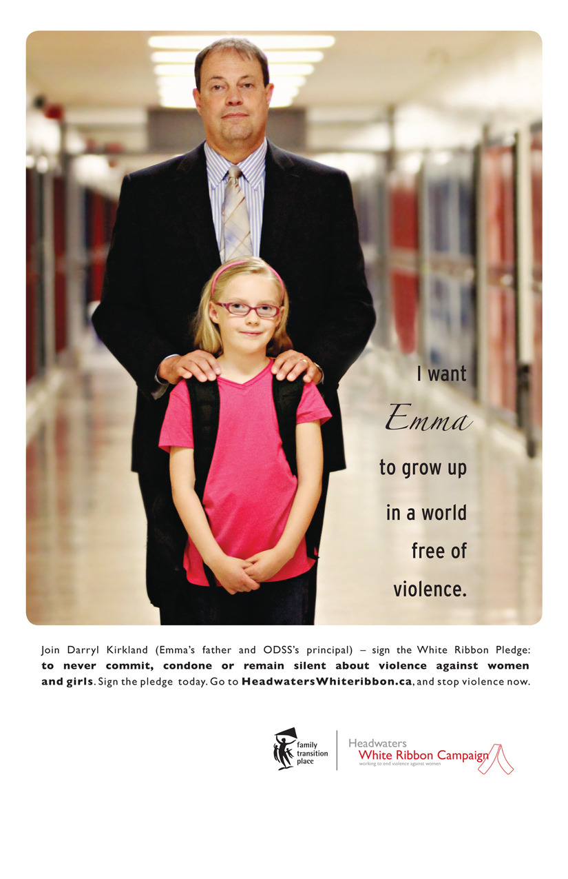 Poster of Principal Darryl Kirkland and his daughter Emma